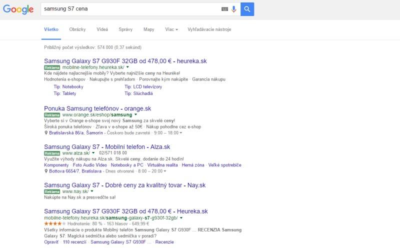 Samsung vyhľadávanie