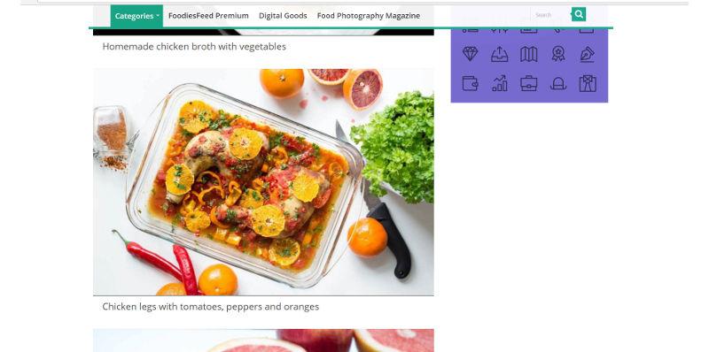 Databáza obrázkov foodiesfeed