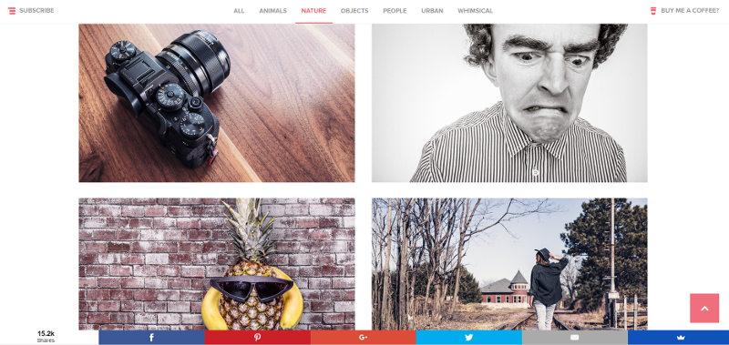 Databáza obrázkov gratisography