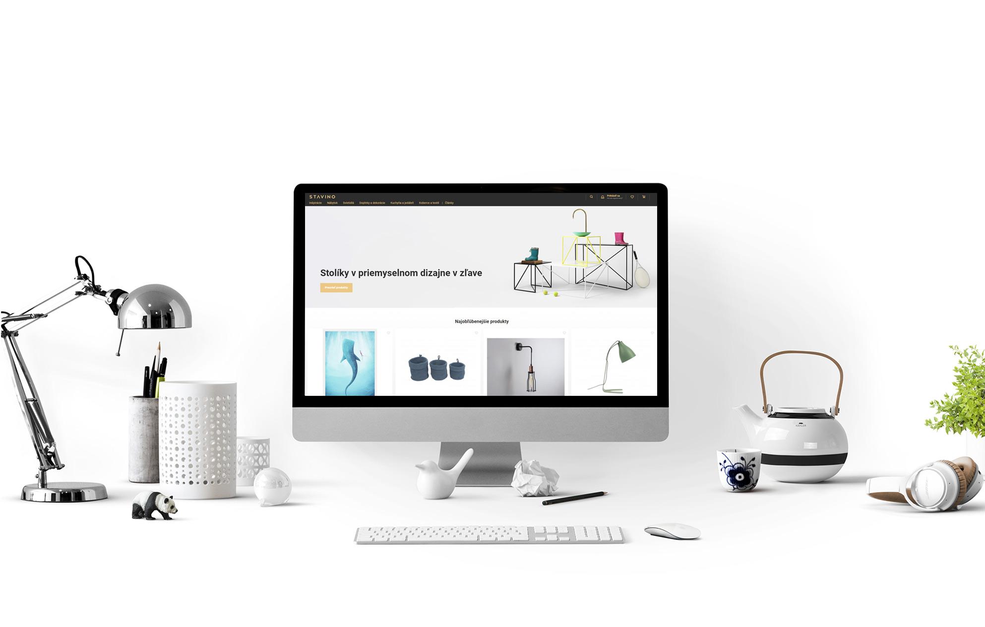 E-shop na mieru Stavino