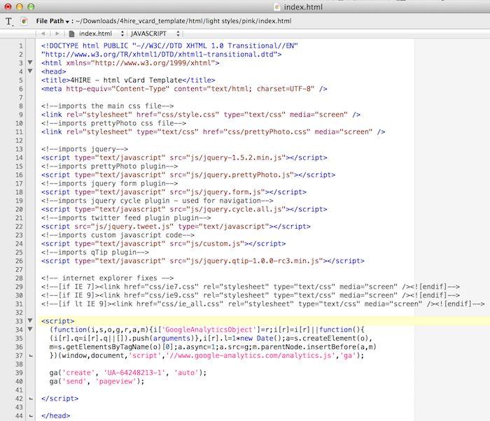 HTML zobrazenie webu