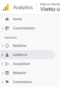 Prehľady Google Analytics